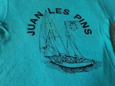 JUAN LES PINS VINTAGE LADIES 70S TEE SHIRT SMALL