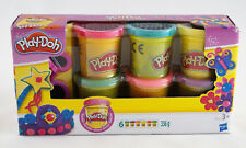 Play Doh Glitzerknete AS417 6 Dosen Knete Neu/New