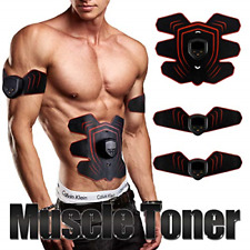 Muscle Toner,Muscle Trainer,Abdominal Toning Belt,EMS Abdominal Muscle ABS Gear