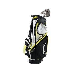King Cobra CXI Irons R Steel Shaft Left Hand Set / 3-S  W/ Slazenger Stand Bag