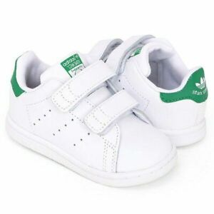 Stan Smith CF I baby shoes Adidas BZ0520 infant toddler White/Green