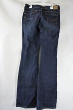 Aeropostale Hailey Skinny Flare 1/2 Long Low Rise Jeans (29x34x7.5 rise) med/dk