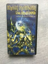 Iron Maiden-Live After Death music video