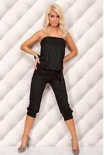 Casual Ladies 3/4 Length Jumpsuit