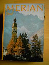 Merian Tirol 11/27 Jg 1974