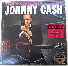 Rockabilly JOHNNY CASH LP The Fabulous 180 Gram Mono AUDIOPHILE USA SEALED Ltd