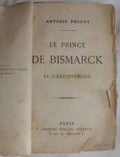 1876 PROUST LE PRINCE DE BISMARCK ALLEMAGNE GERMANIA