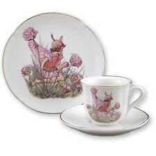 Thrift Fairy Teacup & Plate Set for Children Reutter Porcelain 75.534/1
