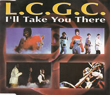MAXI CD SINGLE 4T L.C.G.C I'LL TAKE YOU THERE DE 1992 FRANCE