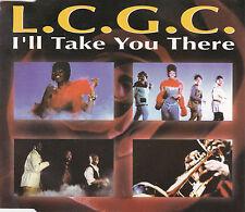 MAXI CD SINGLE 4T L.C.G.C I'LL TAKE YOU THERE DE 1992 FRANCE