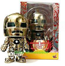 Hot Toys iron Man Mark I Metallic Color Version Cosbaby Marvel