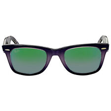 Ray Ban Original Wayfarer Floral Green Gradient Flash Sunglasses