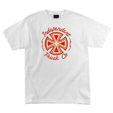 Independent Trucks Voltage Skateboard T Shirt White Xxl