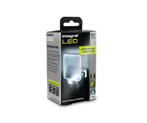 Integral Auto Sensor LED Night Light (UK 3-Pin plug)