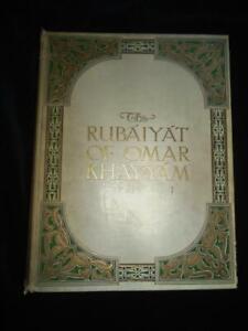 1912 Rubaiyat of Omar Khayyam illustrated Mabel Eardley-Wilmot 38 photos 1st ed.