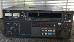 JVC BR-S525DXU S-VHS VIDEO CASSETTE RECORDER EDIT DECK - FREE SHIPPING