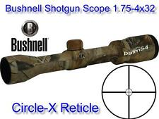 Bushnell Trophy Shotgun Scope 1.75-4x32 Circle-X Shotgun Slug Reticle