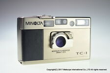 MINOLTA TC-1 G Rokkor 28mm f/3.5 Point & Shoot 35mm Film Camera Excellent+