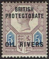 NIGER COAST 1892 QV OIL RIVERS GB 5D