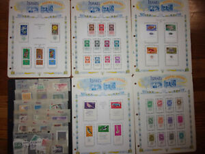 LARGE ISRAEL COLLECTION MODERN MNH/MH STAMPS