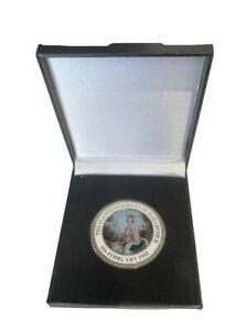 Queen Elizabeth II Platinum Jubilee 1952 - 2022 Commemorative Coin in Box