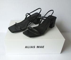 Alias Mae - Henri - Black strap sandal - 37 - New, Never worn