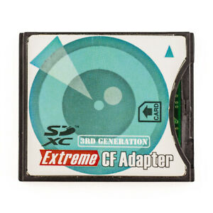 SD to CF Type II Adapter Card Converter -- Supports Eye-Fi,SDHC,SDXC 128GB