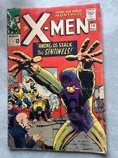 November 1965 Marvel Comics X-Men Among Us Stalk The Sentinels Stan Lee No.14