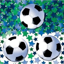 Football Confetti 14g Green Blue Stars Sports Birthday Party Table Sprinkles