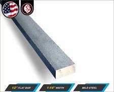 12 X 1 14 Steel Flat Bar Metal Stock Mild Steel 12 Long 1 Ft