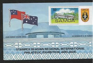 1986 Stampex '86 Adelaide  Mini Sheet Complete MUH/MNH as Issued