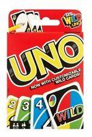 UNO Card Game Uno Family Card Game - Juego De Cartas Para La Familia UNO