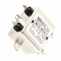 CW4L2-10A-T Power Single Phase Noise Line EMI Filter AC 115//250V 10A