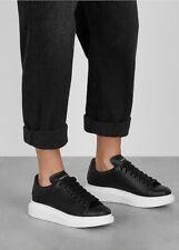 Alexander Mcqueen Black Oversized Sneakers Size 38 (AU 7)