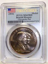 2016 Ronald Reagan Presidential Bronze Medal PCGS MS69RD First Strike