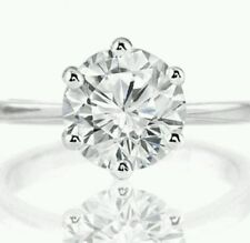 Solitaire White Gold 10k Engagement Rings