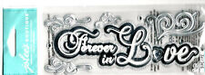 Jolee's Boutique 3-D Stickers - FOREVER IN LOVE title - with Gems - 9-pcs