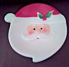 Ceramic Santa Stovetop Spoon Holder