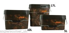 FOX MIMETICO SQUARE fissi / 5L / Accessori / Pesca / cbt005