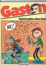 Gaston # 3-catastrofi senza fine-Carlsen Verlag 1986-Franquin-Top