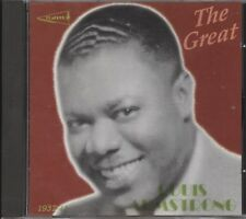 Louis Amstrong - The Great Louis Armstrong 1937-41 (CD Album)