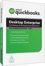 PLATINUM SUBSCRIPTION 6-User!  Intuit QuickBooks Enterprise 2020!