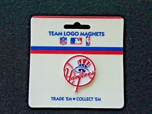Vintage MLB New York Yankees Fridge Magnet Standing Board NEW  PACK OLD STOCK