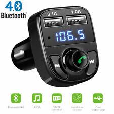 Bluetooth FM Transmitter 2 USB Auto MP3 Player Radio KFZ SD AUX Freisprechanlage