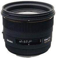 Sigma 50mm 1,4 EX DG HSM Objektiv (77 mm Filtergewinde) für Nikon NEU