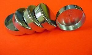 "Fits GM 5pk 1-15/16"" Freeze Expansion Plugs Zinc Plated Steel Engine Cylinder"