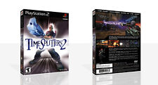 Time Splitters 2 PS2 Replacement Spare Game Case Box + Cover Art Work (No Game)