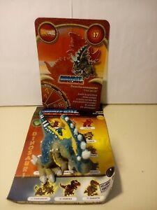 Personaggio PETACHARONOSAURUS N° 17 Dinofroz Combact 3ª Serie + Card e foglietto