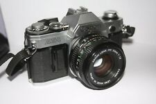 Canon Ae-1 35mm Slr Film Camera with Fd 50mm 1:1.8 Lens
