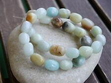 Amazonit Multicolor Perlen Nuggets 13-15 mm Edelstein Strang Neuware